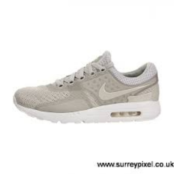 finest selection c656b f984b Nike Air Max Zero Mens BR Pale Grey/Pale Grey NWT